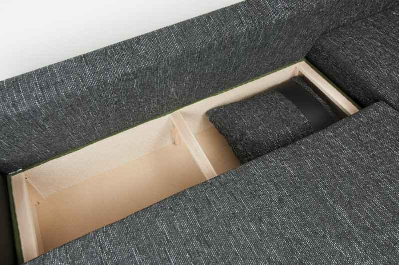 Rozkládací rohová sedačka RIHANA L I