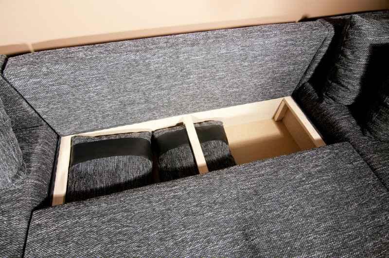 Rozkládací rohová sedačka RIHANA U I