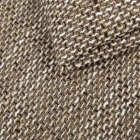 Sedací souprava DORI cappucino / eco.hnědá (sedačka+křeslo+taburet)