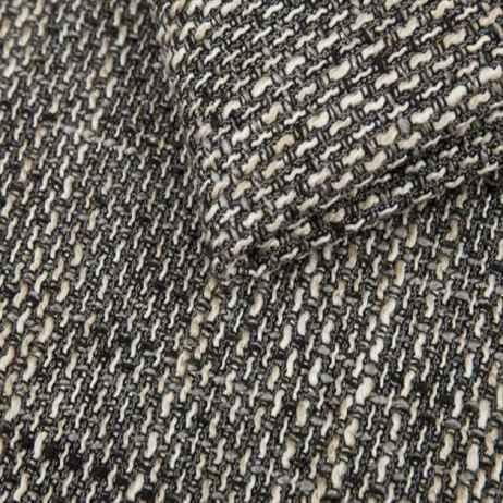 Rozkládací rohová sedačka TONY černá / šedá