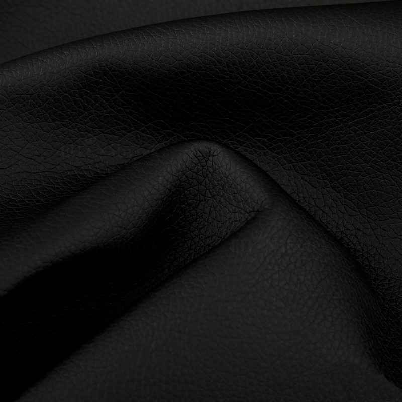 Sedací souprava NAOMI šedá-melír / eco.černá (sedačka+křeslo+taburet)