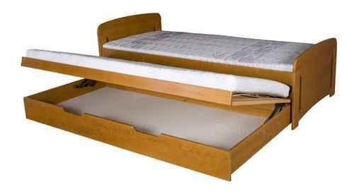 Dětská postel VOJTA vysouvací - dol borovice natural