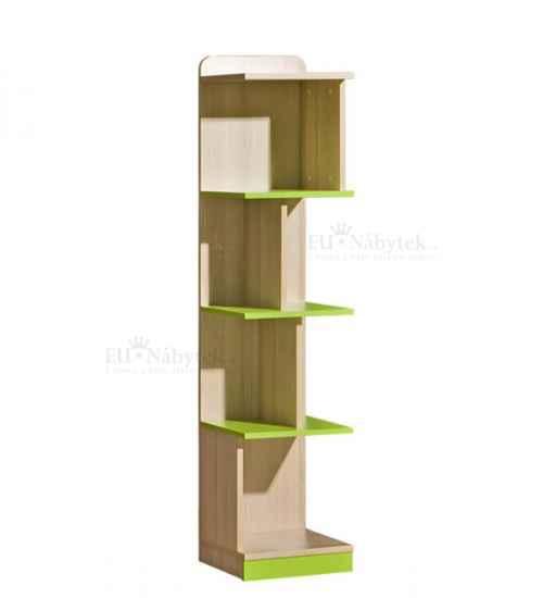 LORENZO L15 regál zelený