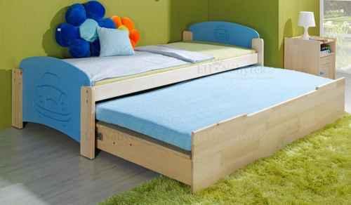 Dětská postel JAN 2 vysouvací - dol borovice natural