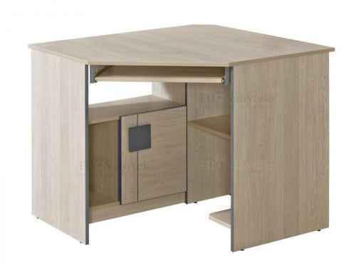 GAMI G11 pracovní stůl rohový - dol-dub-santana-červená