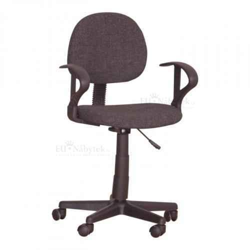 Kancelářská židle, černá, TC3-227