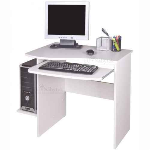 PC stůl, bílá, MELICHAR