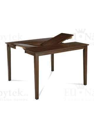 Jídelní stůl rozkl. 136+45x91x75cm, barva ořech