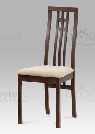 židle masiv buk, barva ořech
