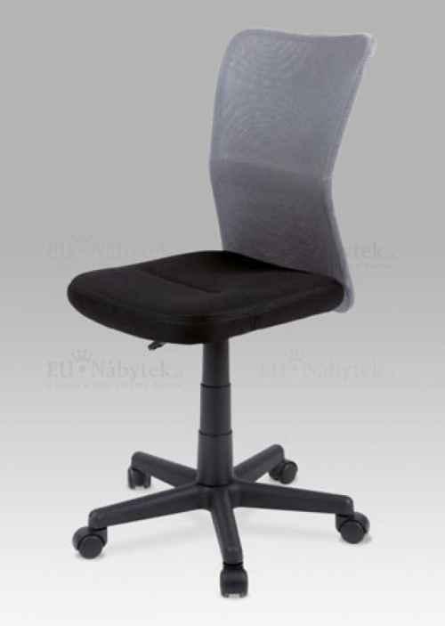 OFFICE CHAIR BACK GREY MESH / SEAT BLACK MESH