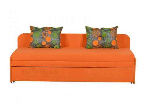 Rozkládací pohovka SARA, oranžová
