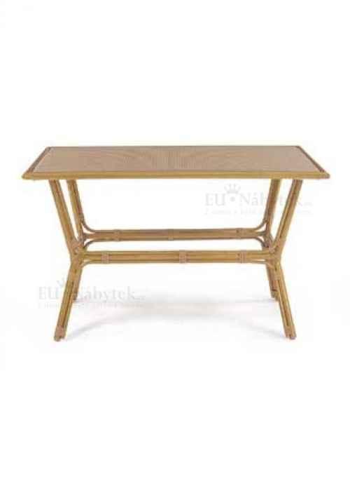 Stůl zahradní ALU umělý ratan