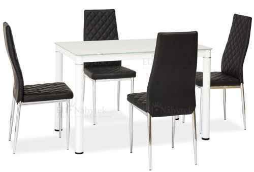 Jídelní stůl GALANT bílý