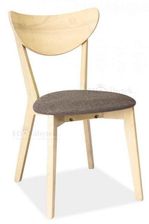 Jídelní čalouněná židle CD-37 šedá DOPRODEJ