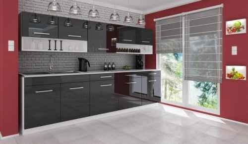 Kuchyňská linka DIAMOND 260 černá