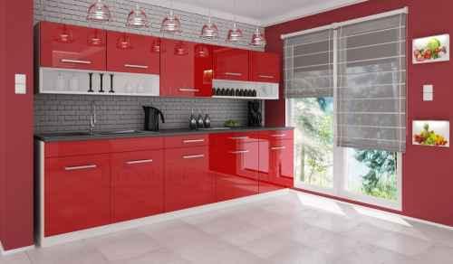 Kuchyňská linka DIAMOND 260 červená