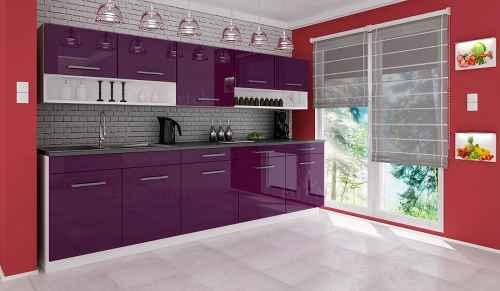 Kuchyňská linka DIAMOND 260 fialová