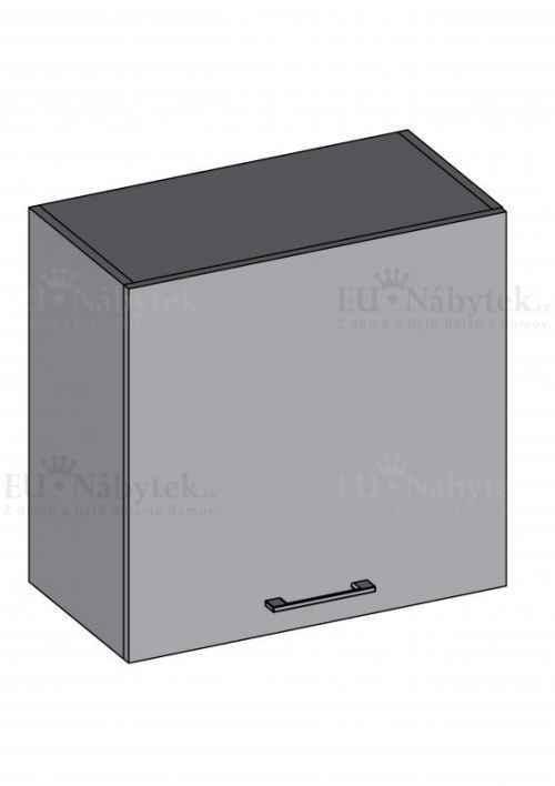 Kuchyňská skříňka DIAMOND, horní 60 cm, červená - červená