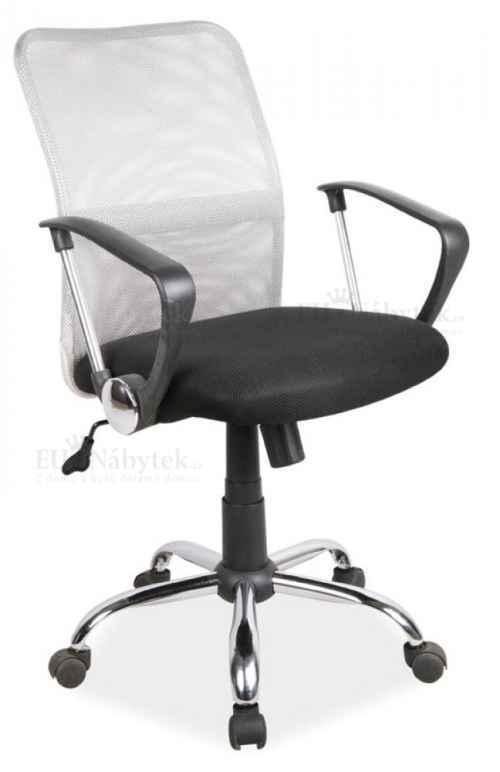 Kancelářská židle Q-078 šedá