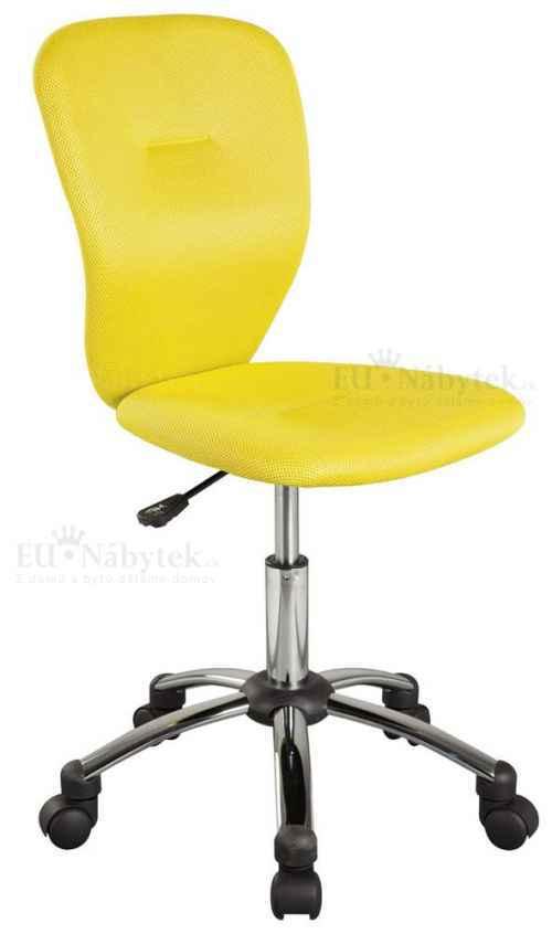 Kancelářská židle Q-037 žlutá