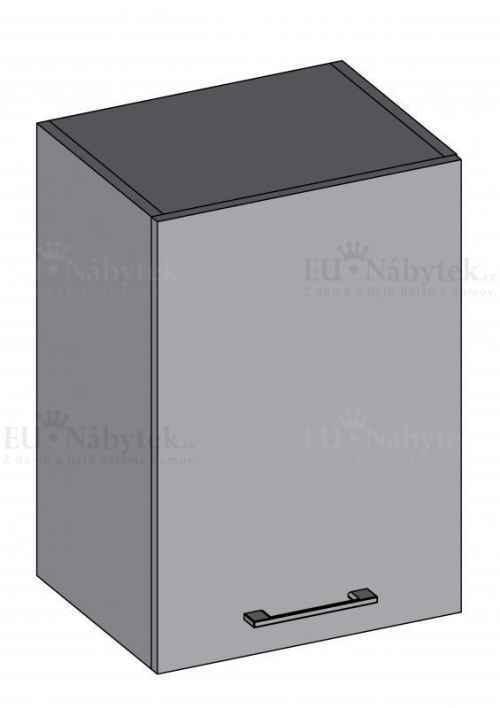 Kuchyňská skříňka DIAMOND, horní 30 cm, červená - červená