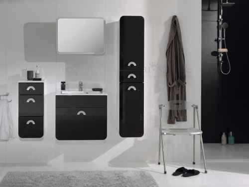 Koupelnová sestava RONDO černá