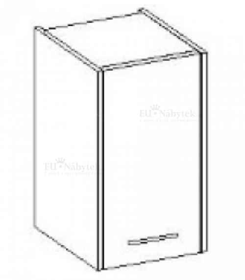 Závěsná skříňka NANCY bílá