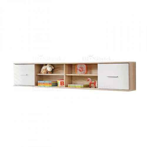 Skříňka visící, dub sonoma / bílá, EMIO Typ 07