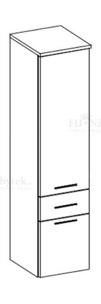 Koupelnová skříňka EVO 11 černá