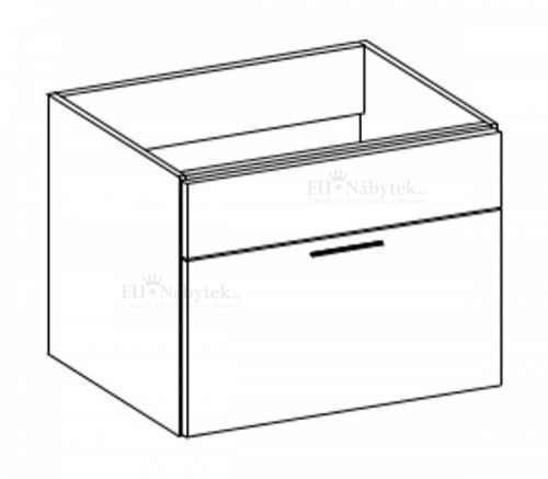 Koupelnová skříňka EVO 13 černá