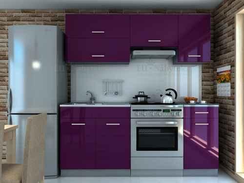 Kuchyňská linka DIAMOND 180 fialová
