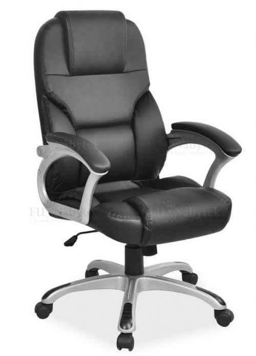 Kancelářská židle Q-077 černá