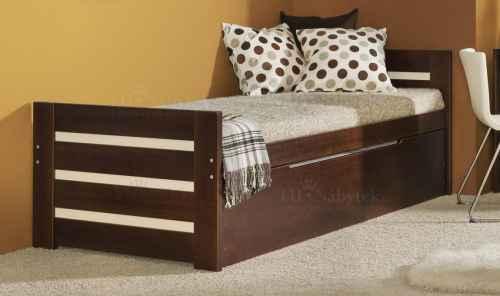 Dětská postel DAWID vysouvací - dol borovice natural