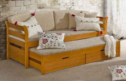 Dětská postel TYTUS - dol borovice natural