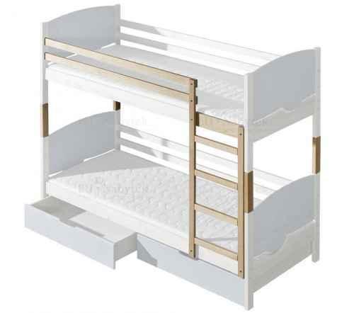 Doplňky k dětské posteli TRIO - dol moření bílá