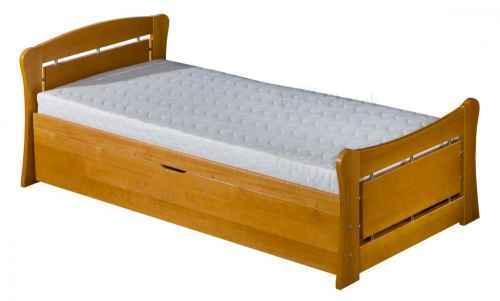 Dětská postel PATRYK 1 - dol moření bílá