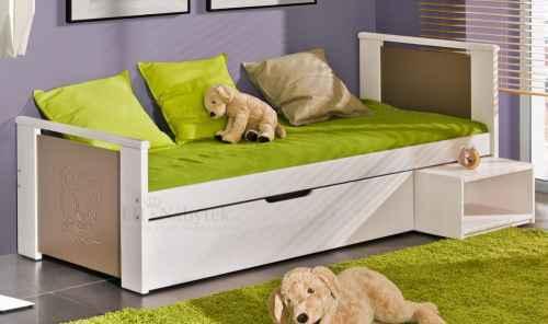 Dětská postel KUBUS - dol borovice natural