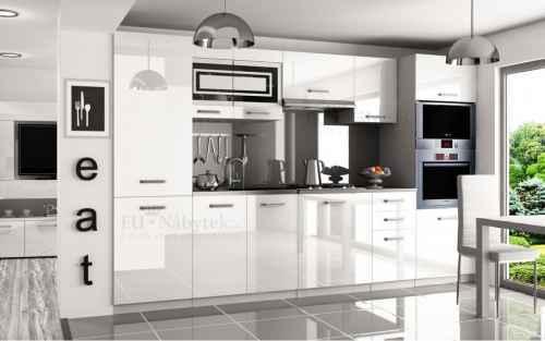 Kuchyňská linka TIFFANY 300 bílá lesk