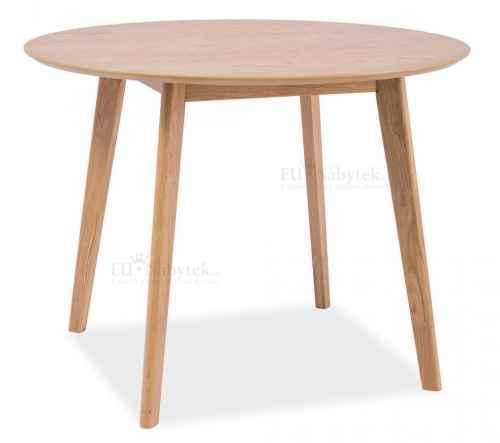 Jídelní stůl kulatý MOSSO II dub