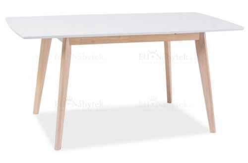 Jídelní stůl rozkládací COMBO II bílý