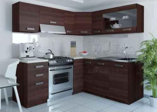 Kuchyňská linka rohová LEON 360 wenge