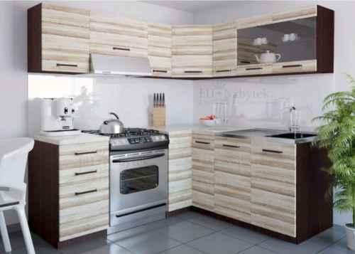 Kuchyňská linka rohová LEON 360 akát