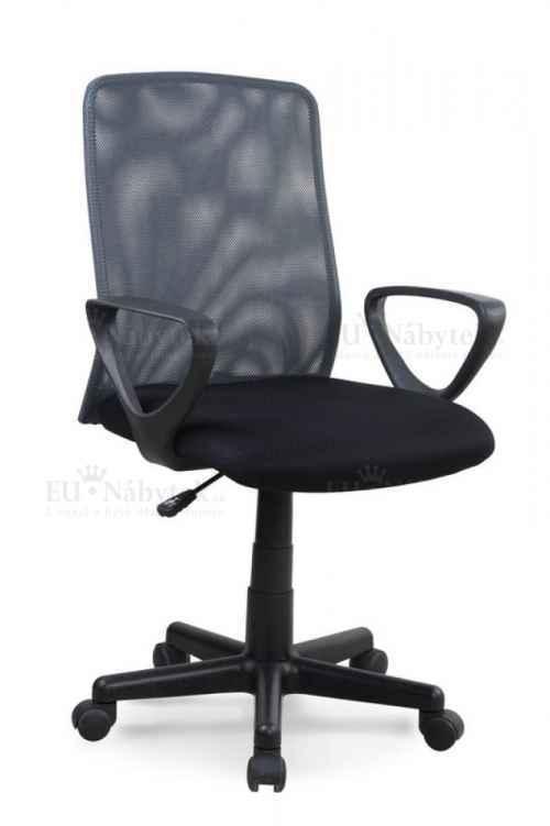 Kancelářské křeslo ALEX černá / šedá