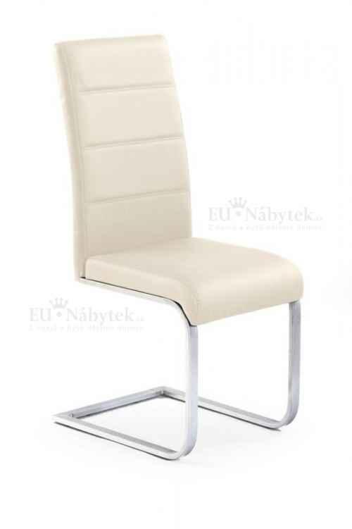 Jídelní židle K85 tmavý krém