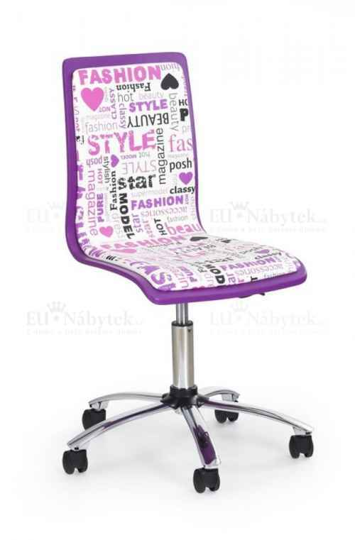 Kancelářská židle FUN-7 fialová