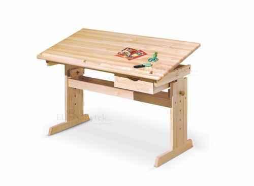 Dětský psací stůl JULIA borovice