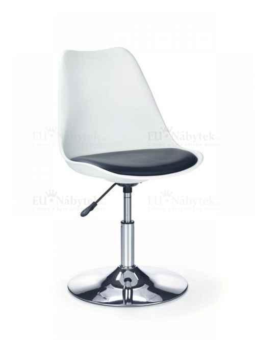 Barová židle COCO 3 černá / bílá