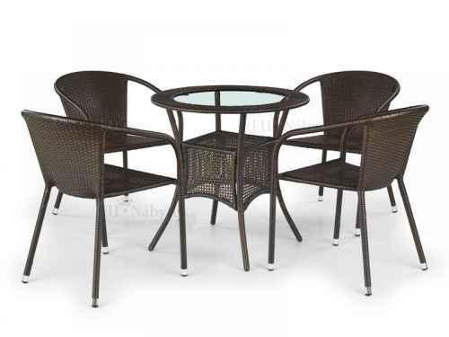 Zahradní stůl MIDAS tmavě hnědá