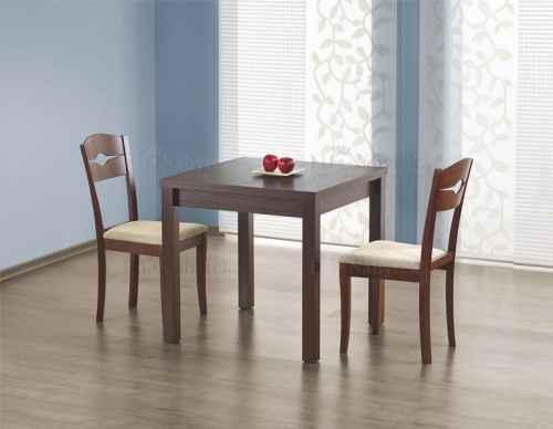 Rozkládací jídelní stůl GRAC tmavý ořech