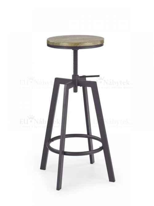 Barová židle Hoker H-64 old vasion / coffe